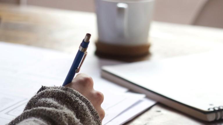 Kirjoittava käsi