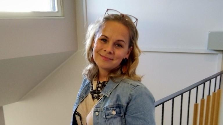 Vapaaehtoistoiminnan koordinaattori Heidi Jokinen