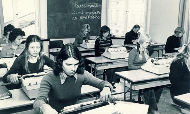 Lapsia luokassa