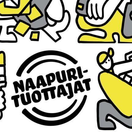 Naapurituottajat toiminnan logo